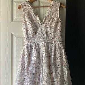 knee length lulus dress!